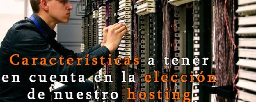 caracteristicas hosting