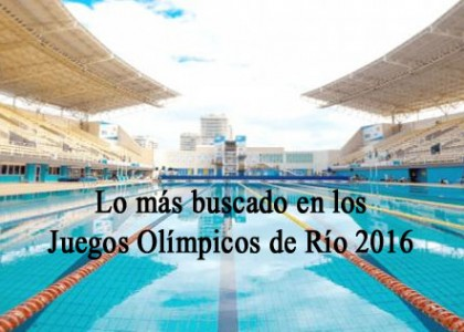juegos olímpicos río 16