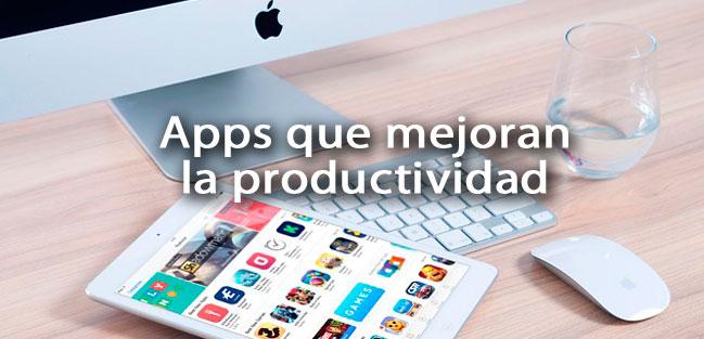 app mejoran la productividad