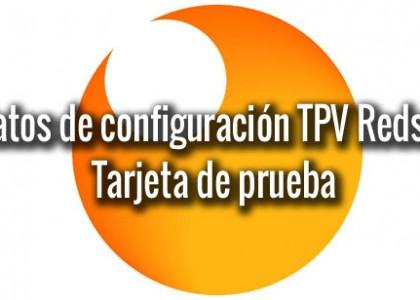 configuracion tarjeta tpv redsys